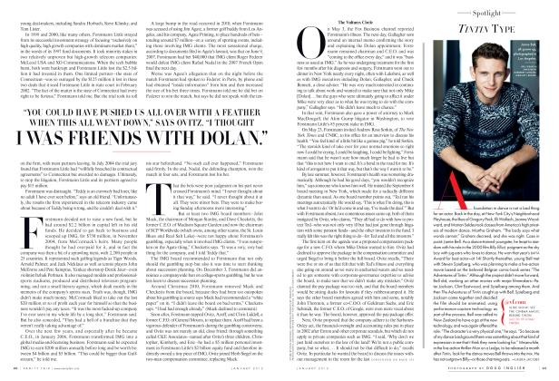 Article Preview: TINTIN TYPE, January 2012 2012 | Vanity Fair