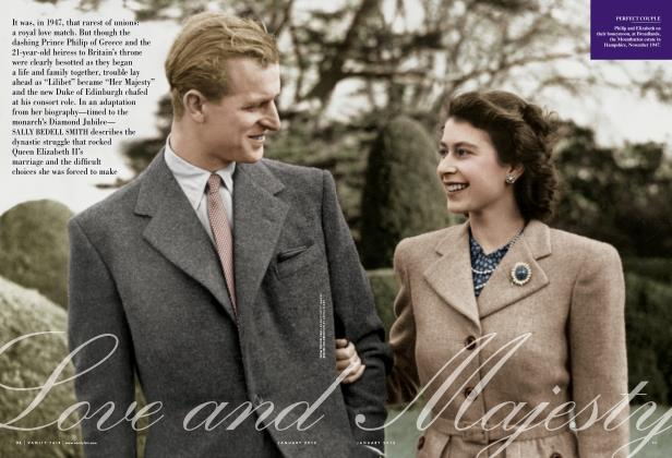 Article Preview: Love and Majesty, January 2012 | Vanity Fair