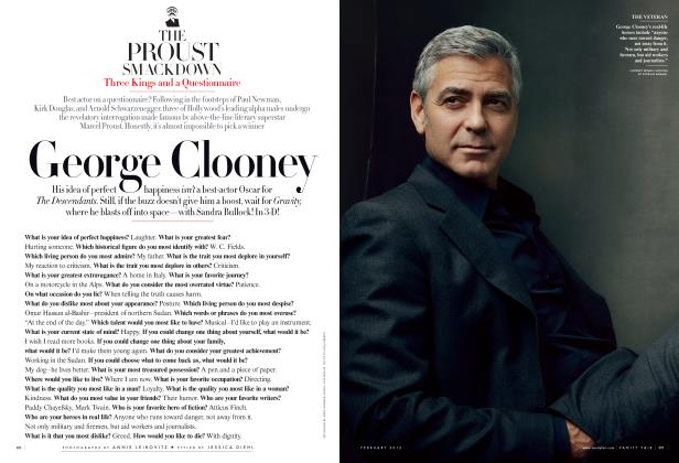 Article Preview: THE PROUST SMACKDOWN: ​Three Kings and a Questionnaire​, February 2012 | Vanity Fair