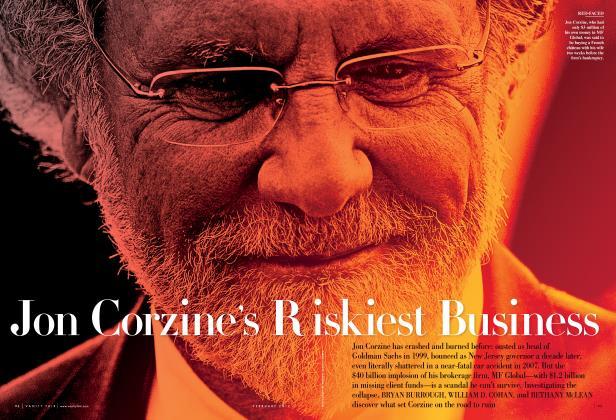 Jon Corzine's Riskiest Business