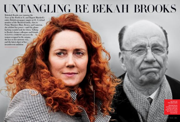 Article Preview: UNTANGLING REBEKAH BROOKS, February 2012 | Vanity Fair