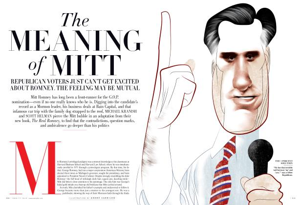 Article Preview: The MEANING of MITT, February 2012 | Vanity Fair
