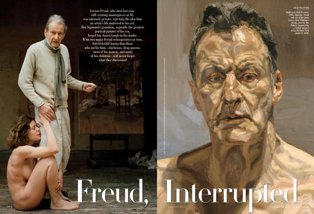 Article Preview: Freud, Interrupted, February 2012 | Vanity Fair