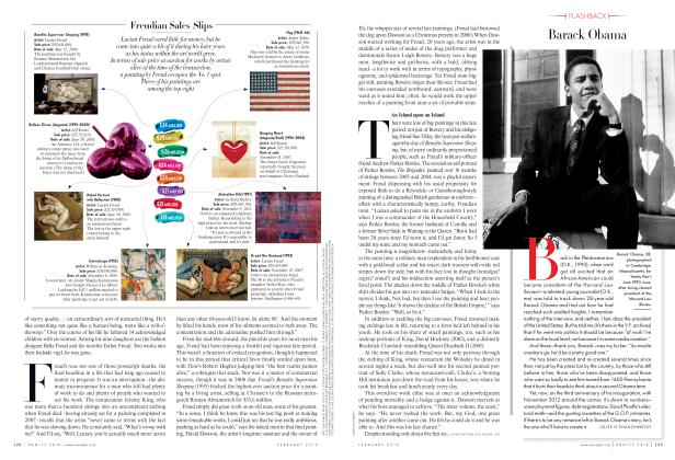 Article Preview: Barack Obama, February 2012 2012 | Vanity Fair