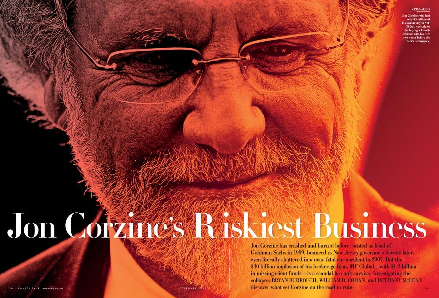 Jon Corzine's Riskiest Business