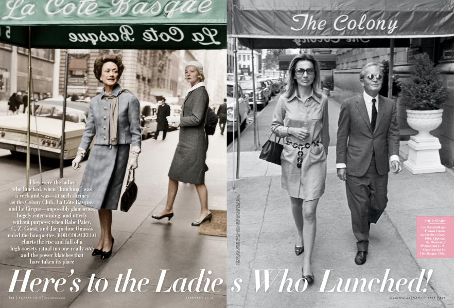 Here's to the Ladies Who Lunched!