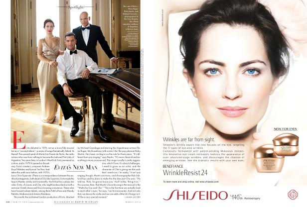 Article Preview: EVITA'S NEW MAN, March 2012 2012 | Vanity Fair