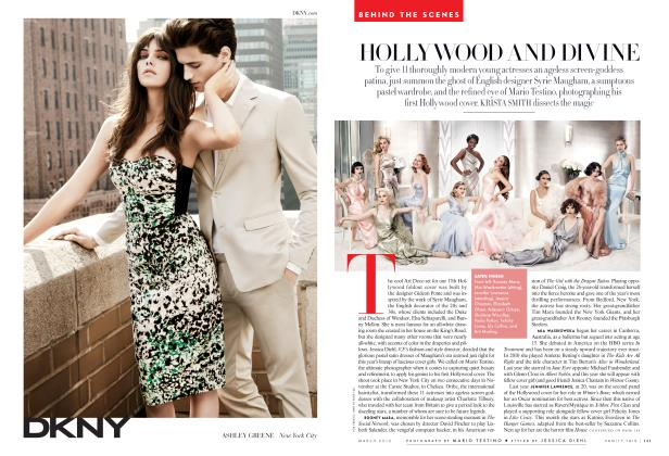 Article Preview: HOLLYWOOD AND DIVINE, March 2012 2012 | Vanity Fair