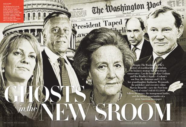Article Preview: GHOSTS in the NEWSROOM, April 2012 | Vanity Fair