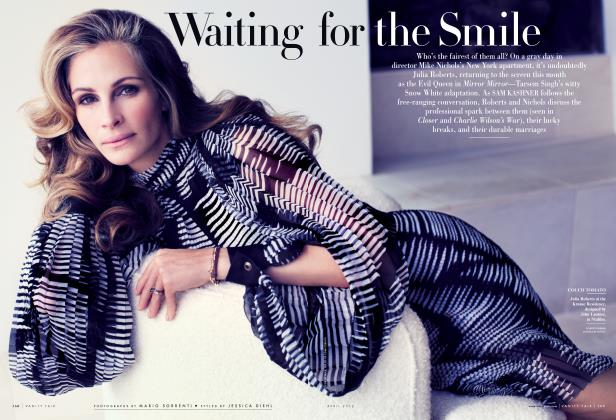 Article Preview: Waiting for the Smile, April 2012 | Vanity Fair
