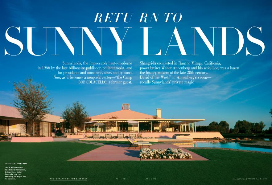 RETURN TO SUNNYLANDS