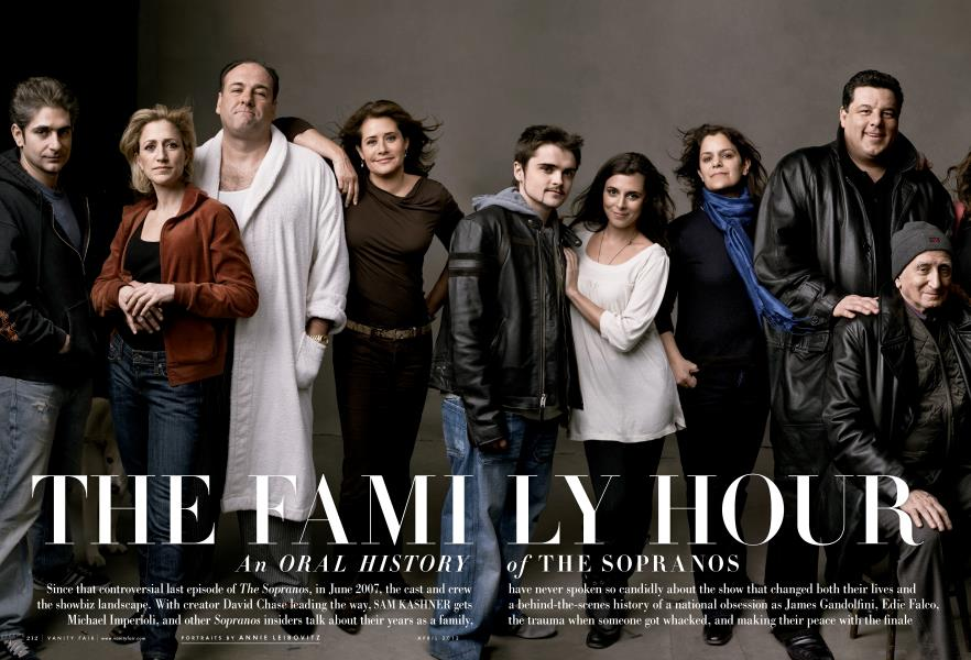 THE FAMILY HOUR An ORAL HISTORY of THE SOPRANOS