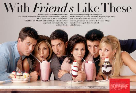 With Friends Like These - May | Vanity Fair