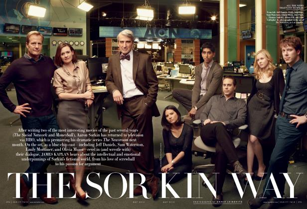 Article Preview: THE SORKIN WAY, May 2012 2012   Vanity Fair