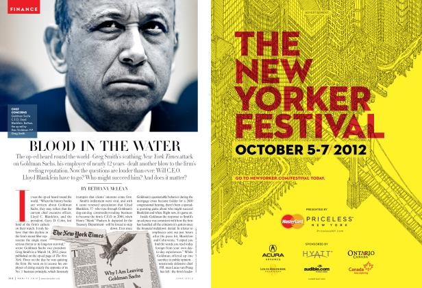 Article Preview: BLOOD IN THE WATER, June 2012 | Vanity Fair