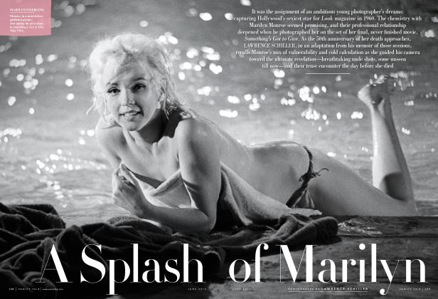 Article Preview: A Splash of Marilyn, June 2012 2012 | Vanity Fair