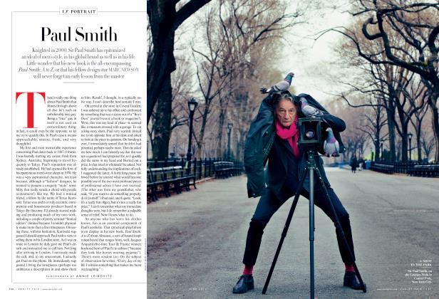 Article Preview: Paul Smith, June 2012 2012 | Vanity Fair