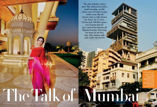 Article Preview: The Talk of Mumbai, June 2012 | Vanity Fair