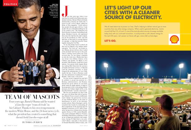 Article Preview: TEAM OF MASCOTS, July 2012 2012 | Vanity Fair