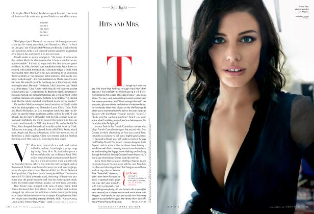 Article Preview: HITS AND MRS., July 2012 2012 | Vanity Fair