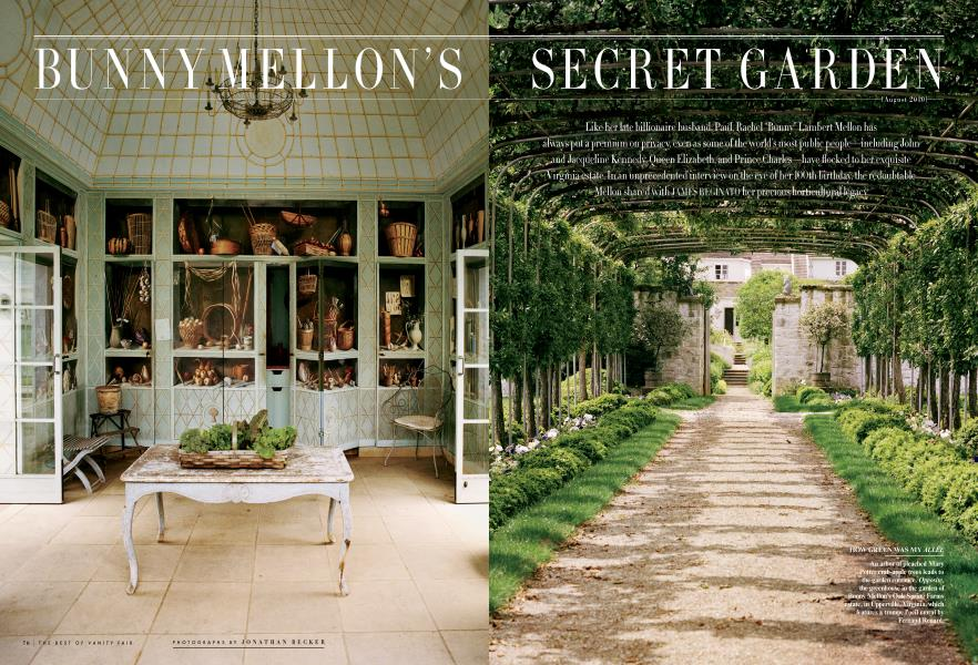 BUNNY MELLON'S SECRET GARDEN August 2010