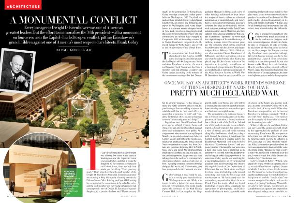 Article Preview: A MONUMENTAL CONFLICT, August 2012 | Vanity Fair