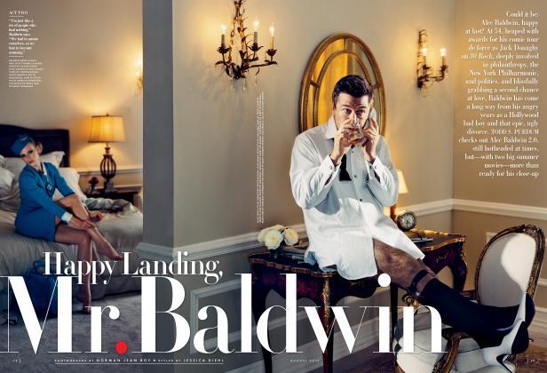 Article Preview: Happy Landing, MR. BALDWIN, August 2012 | Vanity Fair