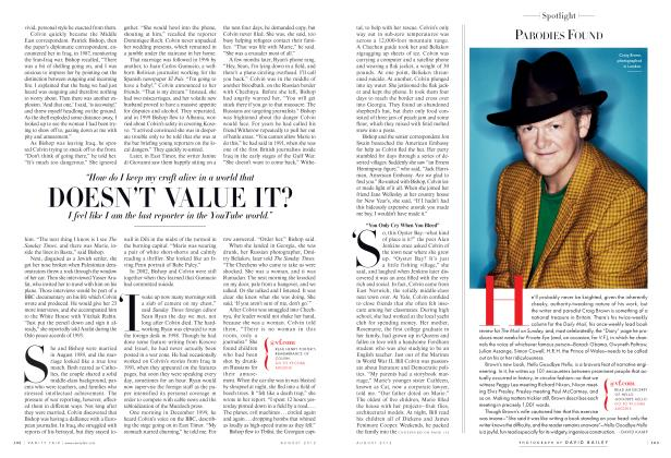 Article Preview: PARODIES FOUND, August 2012 2012 | Vanity Fair