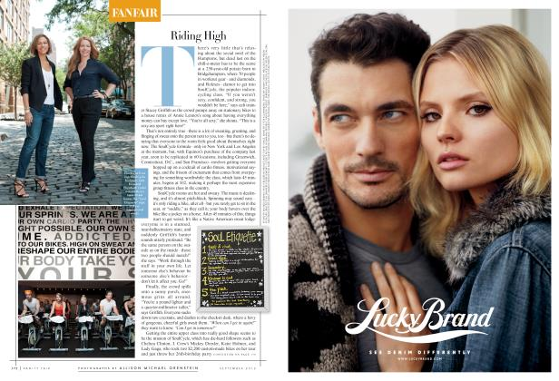 Article Preview: Riding High, September 2012 2012 | Vanity Fair