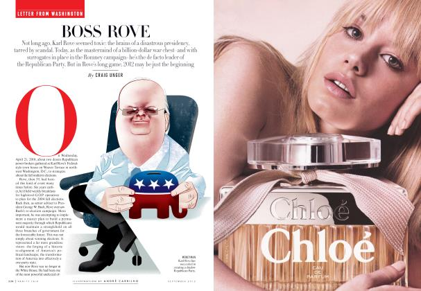 Article Preview: BOSS ROW, September 2012 | Vanity Fair