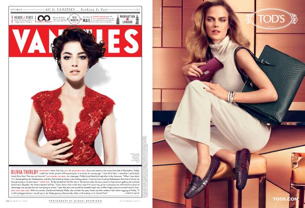 Article Preview: OLIVIA THIRLBY, September 2012 2012   Vanity Fair