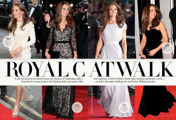 Article Preview: ROYAL CAT WALK, September 2012 | Vanity Fair