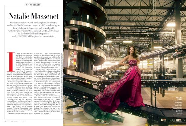 Article Preview: Natalie Massenet, September 2012 2012 | Vanity Fair