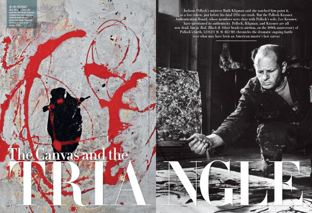 Article Preview: The Canvas and the TRIANGLE, September 2012 | Vanity Fair
