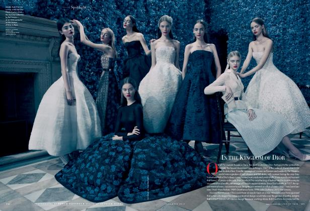 Article Preview: IN THE KINGDOM OF DIOR, September 2012 2012 | Vanity Fair