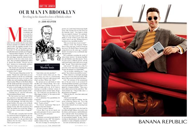 Article Preview: OUR MAN IN BROOKLYN, September 2012 2012 | Vanity Fair