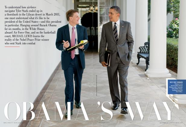 Article Preview: OBAMA'S WAY, October 2012 | Vanity Fair