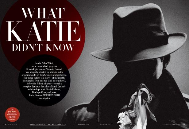 Article Preview: WHAT KATIE DIDN'T KNOW, October 2012 | Vanity Fair