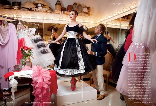 Article Preview: PRIMO VALENTINO, October 2012 2012 | Vanity Fair