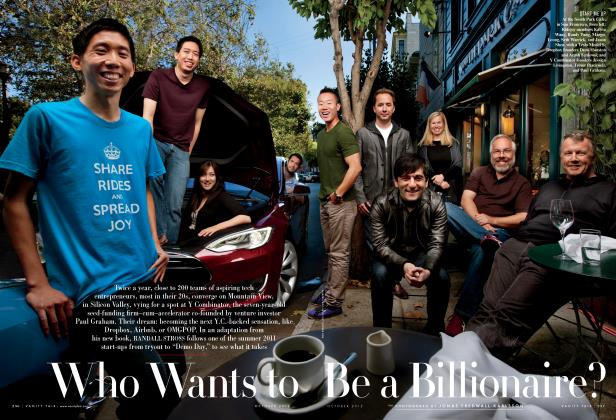 Article Preview: Who Wants to Be a Billionaire?, October 2012 | Vanity Fair