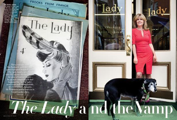 Article Preview: The Lady and the Vamp, October 2012 | Vanity Fair