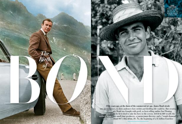 Article Preview: The Birth of BOND, October 2012 | Vanity Fair