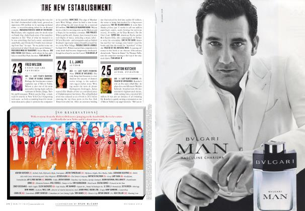 Article Preview: NO RESERVATIONS, October 2012 2012 | Vanity Fair