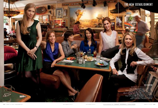 Article Preview: THE X FACTOR, October 2012 2012 | Vanity Fair
