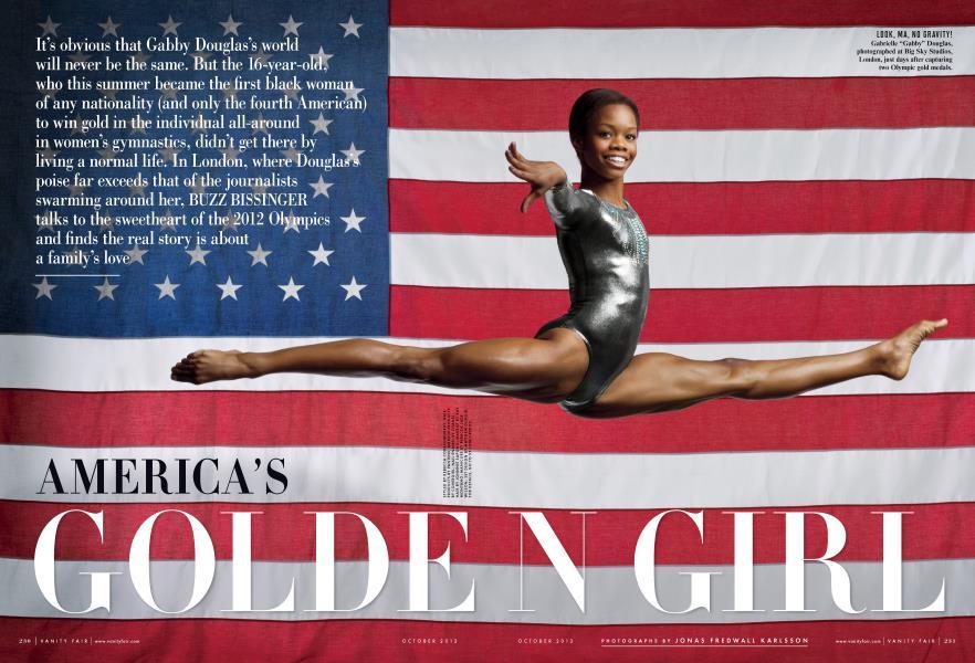 AMERICA'S GOLDEN GIRL