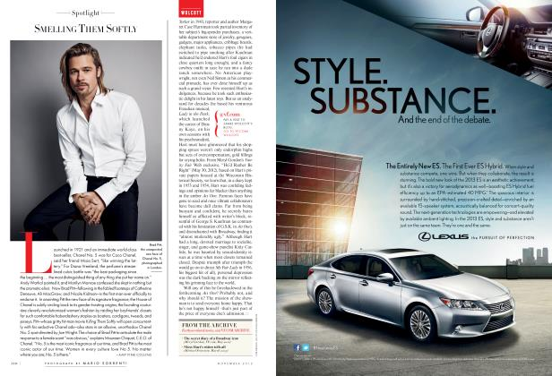 Article Preview: SMELLING THEM SOFTLY, November 2012 2012 | Vanity Fair