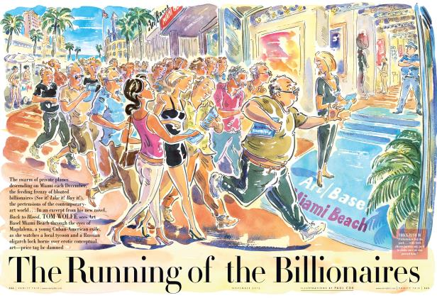 Article Preview: The Running of the Billionaires, November 2012 2012 | Vanity Fair