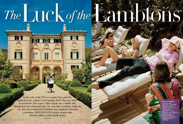 Article Preview: The Luck of the Lambtons, November 2012 2012 | Vanity Fair