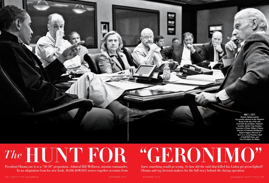 """The HUNT FOR """"GERONIMO"""""""