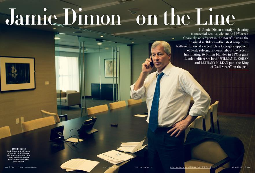 Jamie Dimon on the Line